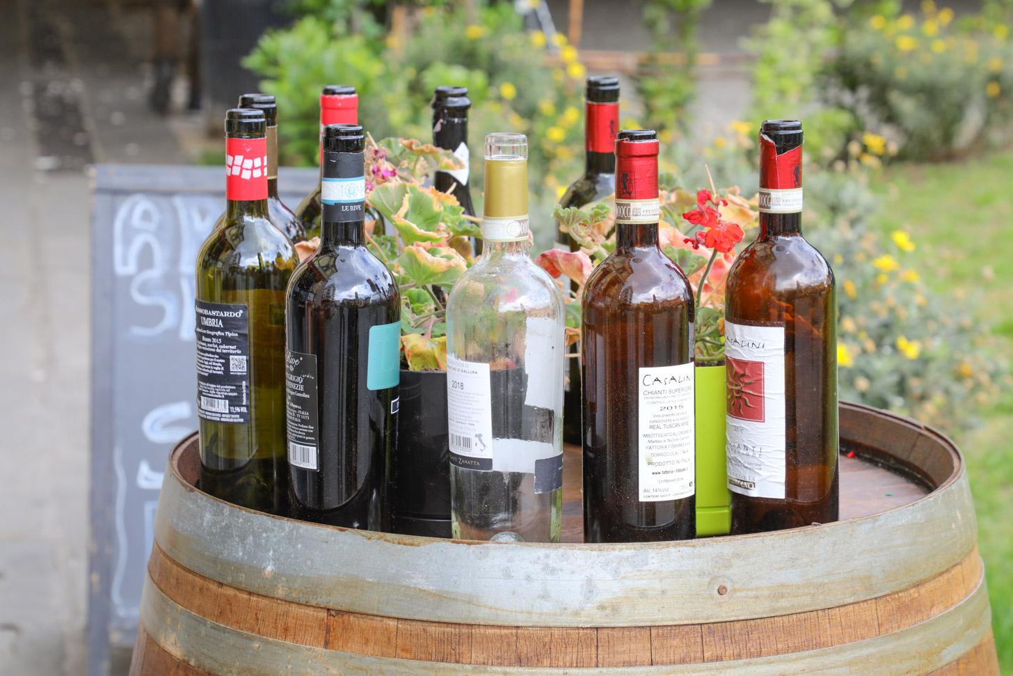 Chianti wijnen uit de buurt